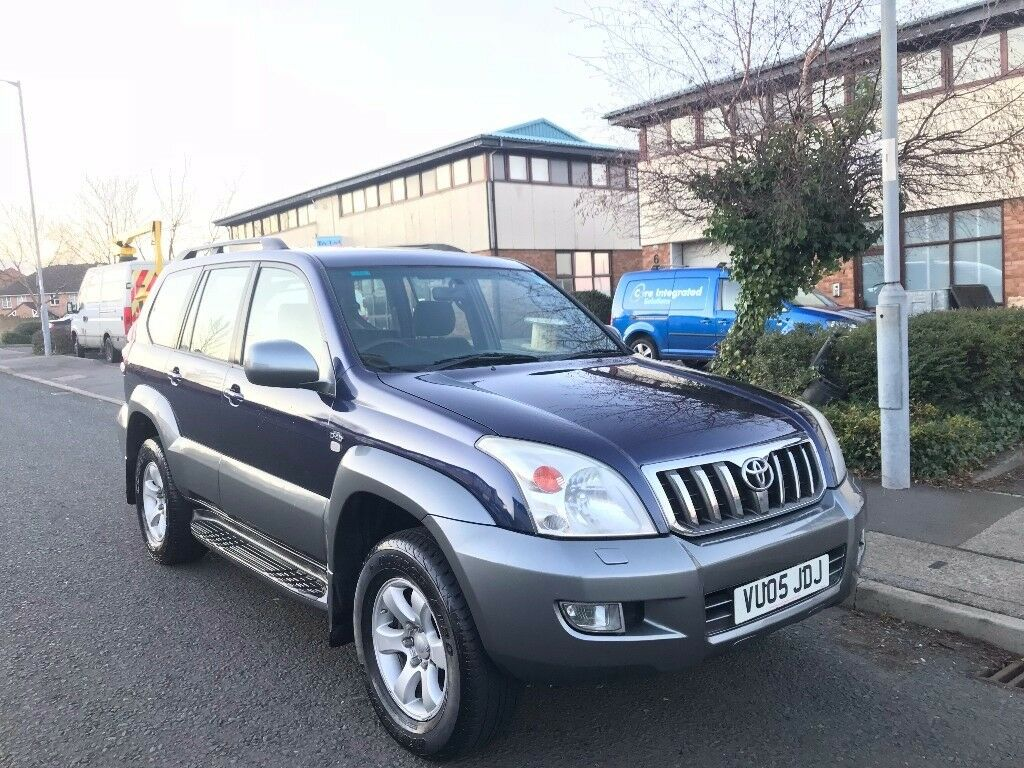 2005 TOYOTA LANDCRUISER LC3 3.0 D-4D MANUAL 4X4 **EXCELLENT CONDITION**