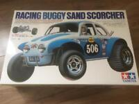 Radio controlled sand scorcher buggy