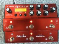 Amplifire 6 amp modeller with impulse response cab simulator