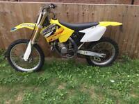 2004 Suzuki Rm125 road legal registered mx 125 crosser Enduro v5 mot learner rm 125cc