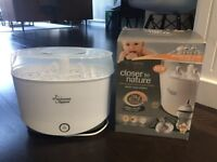 Tommee Tippee Electric Steam Steriliser in good condition
