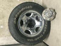 Dodge 2500 tires and rims