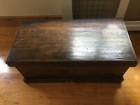 Mohogany Victorian Chest - 37 inches length, 18 inches width, 16 inches depth