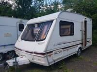 Swift challenger 480-2 berth in mint condition with moter mover and awning