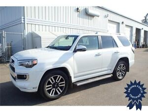 2016 Toyota 4Runner Limited, Heated Seats & Mirrors, 21,713 KMs