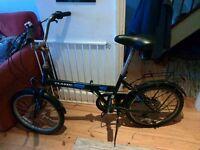 Asked classic folding bike