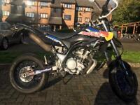 Yamaha wr125 supermoto