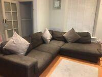 Corner Sofa With Swivel Cuddle Chair
