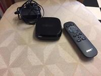 NOW TV BOX WITH REMOTE & CABLE !