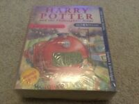 Harry Potter and the Philosphers Stone read by Stephen Fry Audio 6 Cassettes NEW