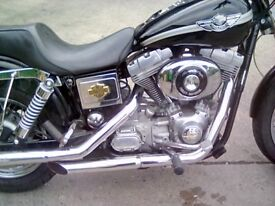 HARLEY-DAVIDSON DYNA FXD ANNIVERSARY 2003 FANTASTIC CONDITION,