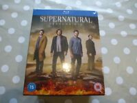 NEW Supernatural Bluray Boxset Seasons 1 -12 All 12 Seasons Still Shrink Wrapped