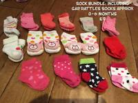 Various baby girl accessories