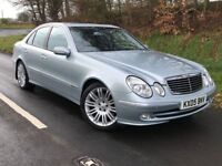 Mint 2005 Mercedes E500 V8 Avantgarde Auto LPG converted, trade in considered, credit cards accepted