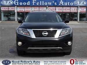2013 Nissan Pathfinder PLATINUM, 4WD, 7 PASSRS, PANROOF, NAV, LE