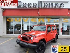 2015 Jeep WRANGLER UNLIMITED Sahara X PACKAGE PLAN OR 7 ANS