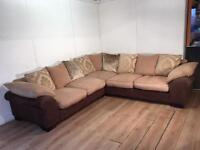 Very nice corner sofa with free delivery within 10 miles