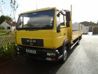 2005 Man L2000 flatbed lorry
