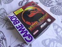 MORTAL KOMBAT ORIGINAL GAMEBOY GAME / RARE / PAY PAL / SECURE POSTAGE.