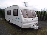 Great family caravan bailey ranger 2002 4 berth with motor mover