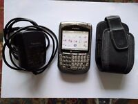 Blackberry 8700 with charger and case