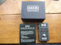Dunlop MXR M109 6-Band Graphic Equalizer EQ Guitar Effects Pedal