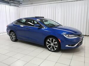 2015 Chrysler 200 200C V6 SEDAN w/ DEEP TINTED GLASS, ALLOY WHEE