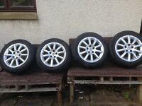 Vauxhall alloy wheels and tyres