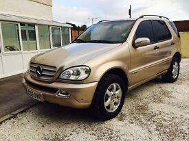 LHD MERCEDES ML 350 AUTO LEFT HAND DRIVE