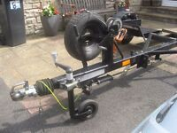 CAR RECOVERY TOWING DOLLY ROAD LEGAL READY TO WORK HEAVY DUTY