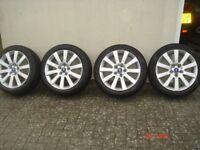 17 Inch Ford Alloy Wheels Fully Refurbished