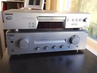 Sony CDP-XE270 CD player & TA-FE370 amplifier - HiFi stereo separates