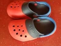 Crocs size infant 10