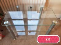 glass tv cabinet stand