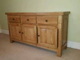 Cotswold Collection solid oak sideboard