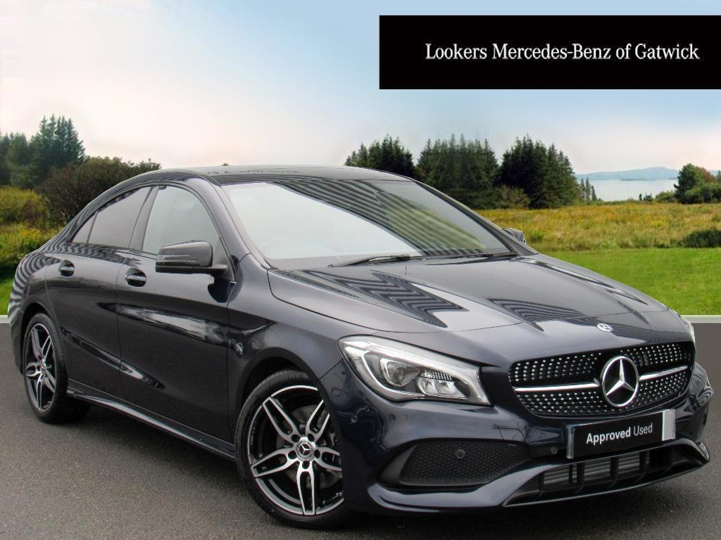 mercedes benz cla cla 220 d amg line blue 2017 12 29 in crawley west sussex gumtree. Black Bedroom Furniture Sets. Home Design Ideas