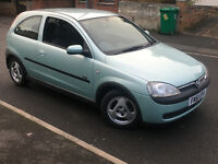 2001*VAUXHALL CORSA SXI 1.2 16V*2 OWNERS*10 MONTHS MOT*ALLOYS*SERVICE HISTORY*IDEAL FIRST CAR