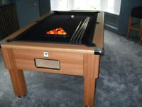Emirates 6ft Pool Table Black Cloth Mint Condition