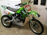 Kawasaki kx 100 big wheel