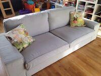 Three-seat sofa Ikea (Kivik)