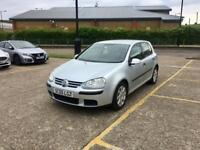 2005 VOLKSWAGEN GOLF 1.9 TDI - DIESEL, MANUAL, WARRANTED MILEAGE, SILVER, 5 DOORS, MOT