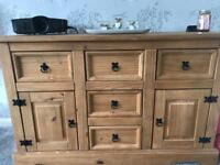 Sideboard and tables
