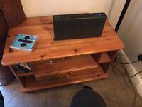Pine corner tv unit...