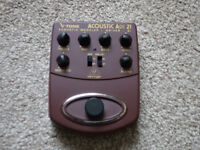 Behringer V-Tone ADI21 Pedal for acoustic - Perfect condition