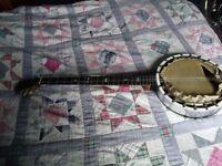 winsor 5 string banjo for renovatsion
