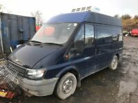 Ford transit breaking spare parts avaiable engine gearbox bumper bonnet pro shaft