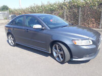 2009(59)VOLVO S40 R DESIGN SPORT 2.0 DIESEL MET GREY,FSH,NEW MOT,6 SPEED,LOVELY CAR,GREAT VALUE