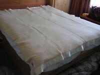bouble wool blanket