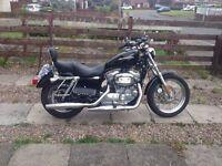Harley Davidson XL 883L Sportster 2006 MOT till September 20017