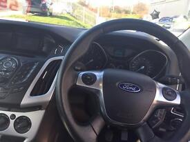 White Ford Focus